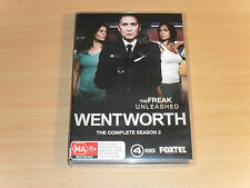 Wentworth Season 2 The Second Series Two 2nd Danielle Cormack (DVD 4-Disc Set)GC