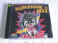 CD BURLESQUE IN JAZZ - GIANTS OF JAZZ