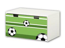 """""""Fußball"""" Möbelsticker / Aufkleber für Banktruhe STUVA von IKEA - BT04"""
