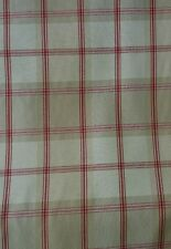 John Lewis Harrow Check In Red Only £9.50 a Metre
