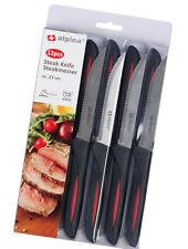 12xAlpina Küchenmesser Set Steakmesser Tafelmesser Pizza Messer Tomatenmesser