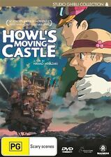 HOWL'S MOVING CASTLE = NEW+SEALED 2 DVD Special Edition