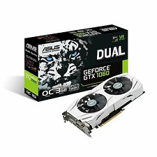 Asus nVidia GeForce GTX 1060 Dual OC 3GB GDDR5X 4K Graphics Card HDMI DVI DP