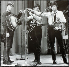 THE BEATLES REPRO 1963 POSTER PAGE JOHN LENNON PAUL MCCARTNEY GEORGE HARRISON