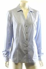 Ben Sherman Pale Blue Long Sleeve Business Shirt Blouse Top Size L BNWT RRP $120