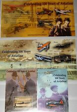 LIBERIA 2003 4840-47 Block 485-A486 Wright Bros Aviation Flugzeuge Airplanes MNH