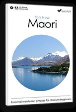 Eurotalk Talk Now Maori for Beginners - Download option and CD ROM