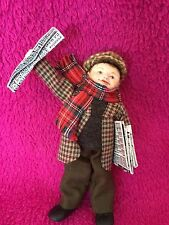 OOAK- Paperboy 1:12th Dollhouse Doll House Miniature