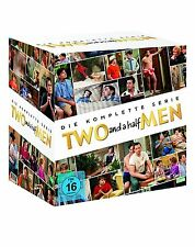DVD-Box TWO AND A HALF MEN - DIE KOMPLETTE SERIE (Staffel 1-12) - 40 DVD's