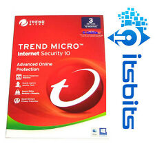 TREND MICRO 2017 INTERNET SECURITY 3 DEVICES 1 YEAR WINDOWS MAC