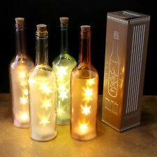 Vintage Starlight Wine Bottle LED Light Christmas Home Out Door Decoration Gift