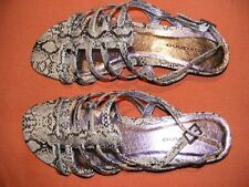 GIOVANNA Natural ANIMAL Print Strappy SANDALS Size 10. NEW rrp$79.99