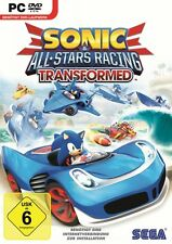 Sonic & All-Stars Racing Transformed PC Neu & OVP