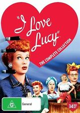I Love Lucy - COMPLETE Collection - (34 Disc Set) NEW DVD