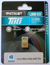 Genuine Patriot TAB 32GB , metal Micro-sized USB 3.0 Flash Drive