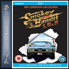 SMOKEY AND THE BANDIT COMPLETE COLLECTION - 1 2 & 3  *BRAND NEW BLURAY**