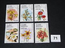 Pflanzen,Blumen,Lilien,auf,Briefmarken,  (71)