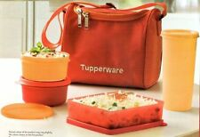 Tupperware Best Lunch - Food Box / Kit - Set of 4 + Free Insulated Bag Brand New
