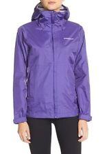 NWT  Women Purple PATAGONIA Torrentshell Waterproof Rain Jacket hood Size Medium
