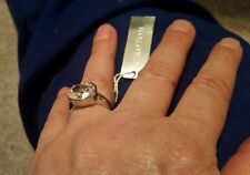 ♡♡♡ BNWT stunning Sexy OROTON Cocktail  silver large or 8 Cubic zirconia Ring