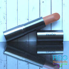 """Nude By Nature """"Sassy"""" Lipstick Natural Mineral Cream Satin finish Nude Brown 4g"""