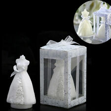 Beauty Bridal Bride Shape Candle Wedding Party Favor Bridal Shower Boxed Gift FT