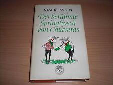 Original DDR-Roman  Der berühmte Springfrosch von Calaveras von Mark Twain