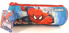 ULTIMATE SPIDER-MAN CANVAS PENCIL CASE BRAND NEW SCHOOL OR OFFICE
