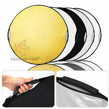 "5-IN-1 43"" 110CM Photo Photography Light Mulit Disc Collapsible Reflector&Grip"