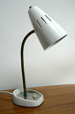 60s PIFCO METAL DESK TABLE LAMP - 50s 70s retro vintage mid-century industrial