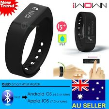 Bluetooth 4.0 Sport Wristband Smart Bracelet Watch for Android IOS iPhone Phone