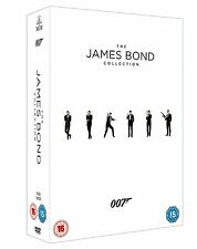 "JAMES BOND COMPLETE MOVIE COLLECTION 23 DISC DVD BOX SET 2015 EDITION R4 ""NEW"""