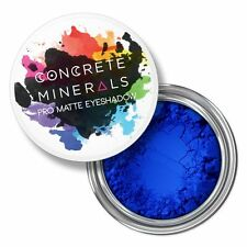 Concrete Minerals Bulletproof Electric Blue Pro Matte Eyeshadow Cruelty Free