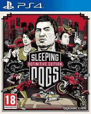Sleeping Dogs Definitive Edition PS4 NEW DISPATCH TODAY ALL ORDERS BY 2PM