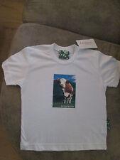 GIESSWEIN T-Shirt - cooler Kuh-Print - Gr. 128 NEU