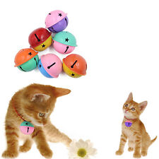 2pcs Double Color Ring Jingle Bell Dog Cat Kitten Puppy Animal Collar Play Toy