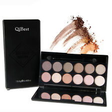 Professional 12 Colors Warm Nude Matte Eyeshadow Eye Shadow Palette Cosmetic Set
