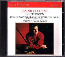 Barry DOUGLAS: BEETHOVEN Piano Sonata No.29 Hammerklavier Andante Favori RCA CD