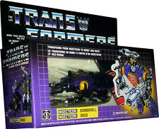 Transformers Insecticon: Bombshell - Vintage G1 1985 - New MISB AFA IT!!