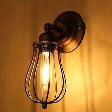 2stk. Vintage E27 klassisch Wandlampe Wandleuchte Metall Antik-Stil Außenlicht