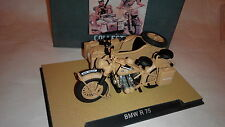 Atlas GERMAN 1/24 scale 1939-1945 BMW R75 Motorcycle with sidecar combination