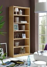 Standregal 200 cm Wandregal Regal Bücherregal Wohnregal Fichte massiv 6 Ablagen