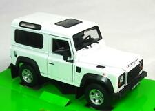 LAND ROVER DEFENDER 90 WHITE WELLY 24498W 1:24 NEW DIECAST MODEL CAR