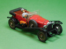 Bentley Le Mans 3 Liter mit Figur Corgi Classics 1:43 Avengers Modellfahrzeug
