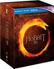 The Hobbit Trilogy Extended Edition Blu-ray Region B (+ 3 D + Digital) 15 Discs