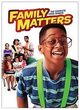 FAMILY MATTERS - SEASON 1 DVD 3 DISCS NEW/SEALED R4 STEVE URKEL