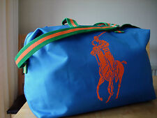 NEW RALPH LAUREN PONY POLO DESIGNER DUFFLE/TRAVEL/WEEKEND/SPORTS/GYM/HOLDALL BAG