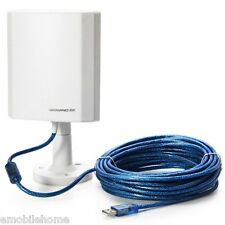 Outdoor Long Range USB 150Mbps Wifi Wireless Adapter + Antenna 10m Cable