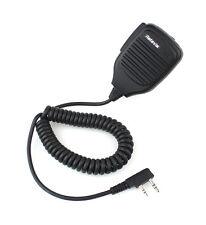 DE Retevis 2 PIN PTT Speaker Mic FOR BAOFENG KENWOOD Retevis H-777 2 Way Radio