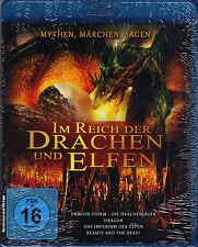 Im Reich der Drachen und Elfen - 4 Filme - Blu-ray - neu - The Beauty and the...